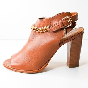 Coach Leanna Chained Booties Size 9.5